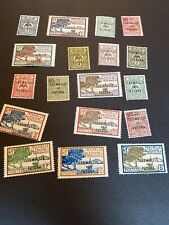 wallis and futuna stamps Mint Lot 18