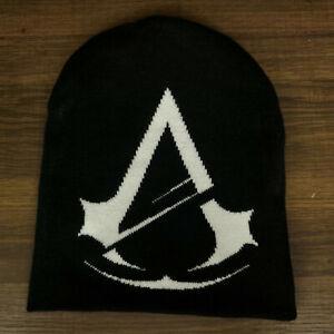 Assassins Creed Reversible Beanie Knit Gaming Cap Hat Adult OSFA New Unworn