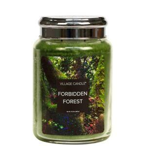 Forbidden Forest Scented Village Candle 26oz Glass Jar Fantasy Fragrance