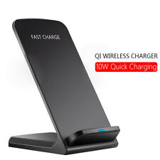 10W Fast Wireless Charger Qi Ladegerät Kabelloses ladestation Für iphone 8 x xs