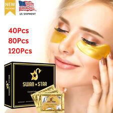 24K Gold Eye Treatment Masks Under Eye Patches, Under Eye Collagen Patches