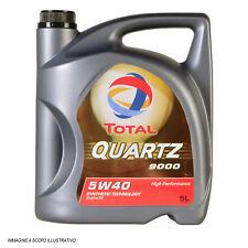 ..olio Motore 5 Litri.. Total Quartz 9000 5w40 Synthetic 5 litri Energy