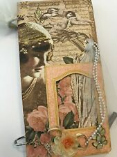 An Affair to Remember Chipboard Mini Book Album Scrapbook KIT Wedding Love