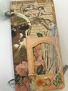 An Affair to Remember Chipboard Mini Book Album Scrapbook KIT Wedding Love