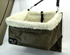 """Tag-a-long Booster Seat for Small Dog or Cat by Solvit Products 12"""" 10.5"""" x 7.5"""""""