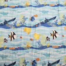 Original Finding Nemo Dory Disney Pixar Twin Flat Sheet Tank Gang Fabric Cutter