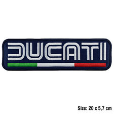 Toppa DUCATI moto patch termoadesiva grande schiena big back motors motocycle