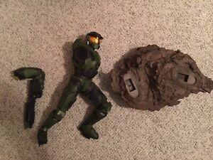 Sideshow Halo Master Chief Premium Statue *Broken Missing Parts*