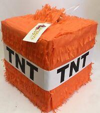 TNT Pinata Orange Color, Great for Halloween