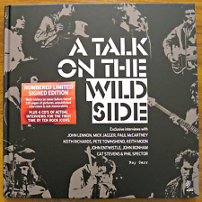 A Talk on the Wild Side  Roy Carr  Limited Numbered Signed Edition  No 414/1000