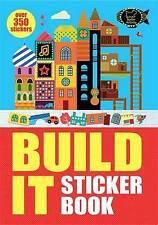 Build it: Sticker Book (Sticker Activity), Very Good Condition Book, Lauren Farn