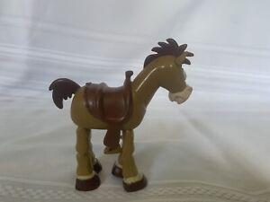 "Rare Disney Pixar 1996 Toy Story Bulleye Bulls Eye Horse 7"" Cake Topper"