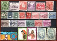 Pakistan Assorted 67 Stamps - 49 Different