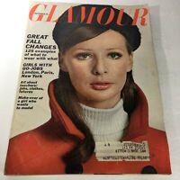 VTG Glamour Magazine: September 1965 - Make-Over Of A Girl Who Wants To Be Model