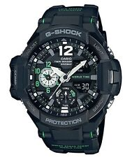 Casio G-Shock * G-Aviation GravityMaster GA1100-1A3 Black/Green COD PayPal