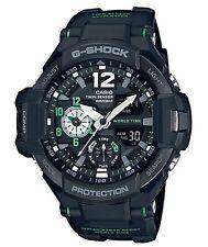 Casio G-Shock * G-Aviation GravityMaster GA1100-1A3 Black/Green COD PayPal