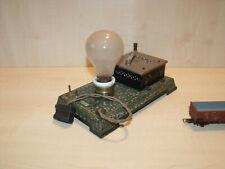8107) BING uralt - Regler mit Kohlefaserbirnen - L. 22,5 cm - schöne Erh.