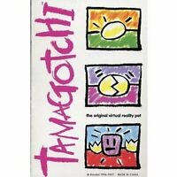 Bandai Original TamaGotchi Clear Blue, 1996 - 1997 English F/S w/Tracking# Japan