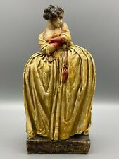More details for rare agatha walker plaster waxed figurine of lucy lockit beggar's opera