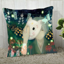 Anime Pillow Case.The Light of The Fireflies Forest.Hotarubi No Mori E.bolster