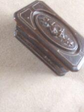 Superbe coffret, boîte à bijoux en bois sculpté CA1
