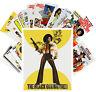 Postcards Pack [24 cards] Blaxploitation Lady Vintage Action Movie Poster CC1063
