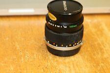 Olympus Zuiko 100mm f/2.8 Auto-T PRIME Lens