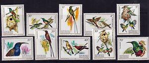 RWANDA 1983 Birds NEVER MOUNTED MINT