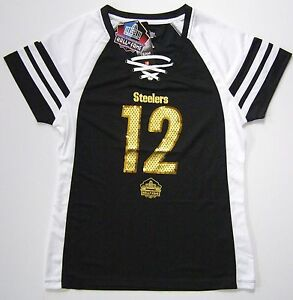 NFL Pittsburgh Steelers Terry Bradshaw Hall of Fame Draft Him IV Jersey Shirt
