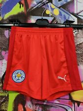 Leicester City Fc The Foxes Football Soccer Training Shorts Puma Youth size M