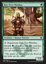 Kin-Tree Warden   EX/NM  x4  Khans of Tarkir MTG Magic Green Common