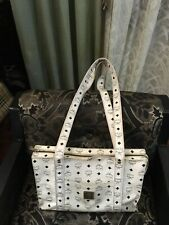 MCM coated canvass womens tote, bag