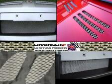 COMPLETE 10 PIECE MG TF MGTF PREMIUM HARD ANODISED ALUMINIUM GRILLE KIT