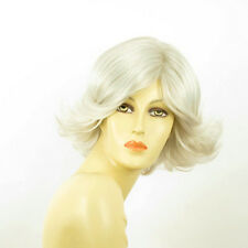 short wig for women smooth white ref: MARION 60 PERUK