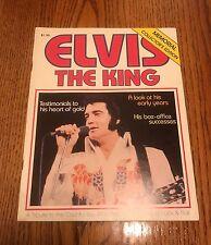 ELVIS THE KING MEMORIAL COLLECTORS EDITION MAGAZINE