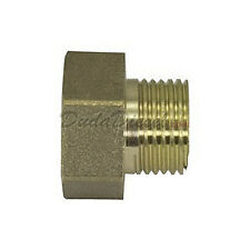 """Solar Water Collector Fitting: G-Thread Brass Adapter 3/4"""" Female x 1/2"""" male"""