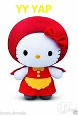 2014 Fabric , Hello Kitty Fairy Tales LITTLE RED RIDING HOOD Plush Toy
