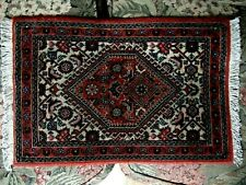 VERY FINE ANTIQUE HAND MADE ORIENTAL MINI SIZE RUG