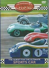 THE QUEST FOR THE ULTIMATE SPORTS CAR DVD - THE MARQUE OF A LEGEND