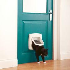Staywell chat porte 4 voies fermeture avec BLANC tunnel