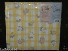 Lamb Duck Baby Album Shower Children Scrapbook 12x12 Pale Yellow print