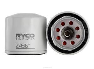 Ryco Oil Filter Z436 fits Mazda 323 1.5 (BF), 1.6 Astina (BJ), 1.6 Protege (B...