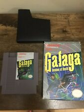 Galaga: Demons of Death (Nintendo NES, 1988) Includes Box