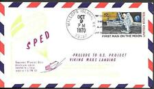US Space Cover 1970. Mars Landing Test SPED II. Prelude Viking Project Andromeda
