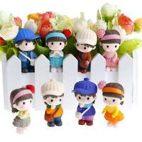 2 pezzi di decorazione in miniatura in resina per bambini CH