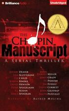 THE CHOPIN MANUSCRIPT unabridged audio book on CD by JEFFERY DEAVER - Brand New!
