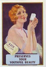 Década de 1930 Lux Jabón Publicidad Cartel A3 reimpresión