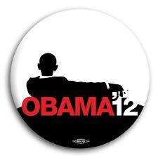 "I've Got His Back Barack Obama 2012 Progressive Democrat President Button Pin 3"""