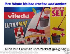 VILEDA ULTRAMAT Wischmop Wischeimer ULTRAMAT Bodenwischer Putzgerät Komplettset