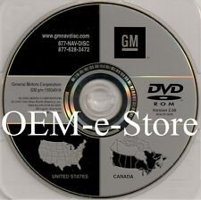 2007 2008 2009 Cadillac SRX DTS GPS Navigation DVD Map General Motors U.S Canada